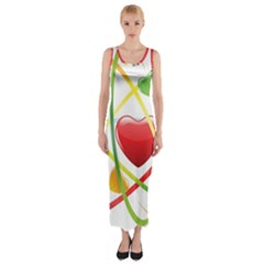 Love Fitted Maxi Dress