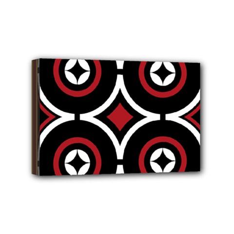 Toraja Pattern Ne limbongan Mini Canvas 6  X 4