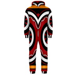 Toraja Pattern Pa barre Allo Hooded Jumpsuit (men)