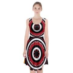 Toraja Pattern Pa barre Allo Racerback Midi Dress