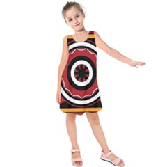 Toraja Pattern Pa barre Allo Kids  Sleeveless Dress