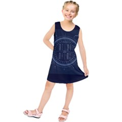 Minimalistic Knowledge Mathematics Trigonometry Kids  Tunic Dress