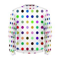 Circle Pattern Men s Sweatshirt