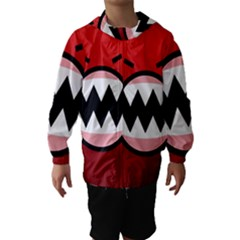 Funny Angry Hooded Wind Breaker (kids)