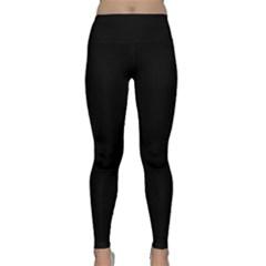Black Classic Yoga Leggings