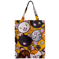 Cats Cute Kitty Kitties Kitten Zipper Classic Tote Bag