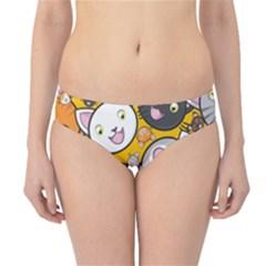 Cats Cute Kitty Kitties Kitten Hipster Bikini Bottoms