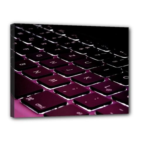 Computer Keyboard Canvas 16  X 12