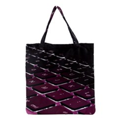 Computer Keyboard Grocery Tote Bag