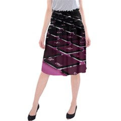 Computer Keyboard Midi Beach Skirt
