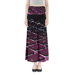 Computer Keyboard Full Length Maxi Skirt