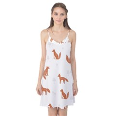 Fox Animal Wild Pattern Camis Nightgown