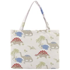Dinosaur Art Pattern Mini Tote Bag