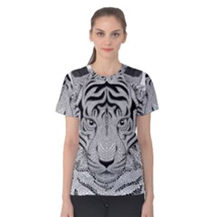 Tiger Head Women s Cotton Tee