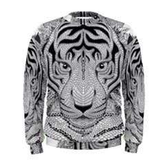Tiger Head Men s Sweatshirt