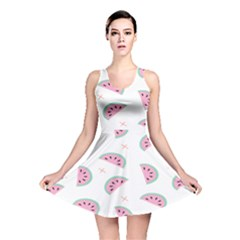 Watermelon Wallpapers  Creative Illustration And Patterns Reversible Skater Dress