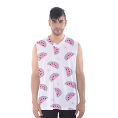 Watermelon Wallpapers  Creative Illustration And Patterns Men s Basketball Tank Top