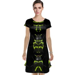 Beetles Insects Bugs Cap Sleeve Nightdress