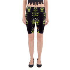 Beetles Insects Bugs Yoga Cropped Leggings