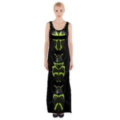 Beetles Insects Bugs Maxi Thigh Split Dress