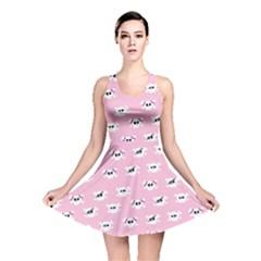 Girly Girlie Punk Skull Reversible Skater Dress
