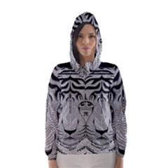 Tiger Head Hooded Wind Breaker (women)