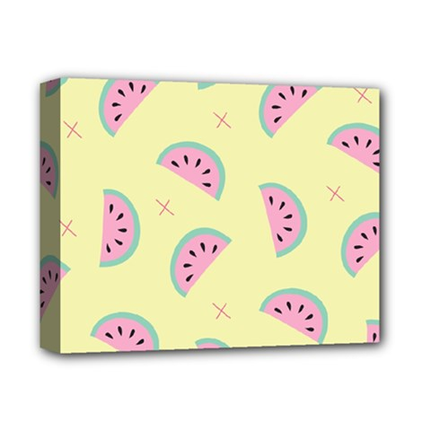 Watermelon Wallpapers  Creative Illustration And Patterns Deluxe Canvas 14  X 11