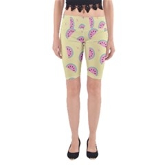 Watermelon Wallpapers  Creative Illustration And Patterns Yoga Cropped Leggings
