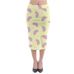 Watermelon Wallpapers  Creative Illustration And Patterns Midi Pencil Skirt