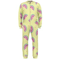 Watermelon Wallpapers  Creative Illustration And Patterns Onepiece Jumpsuit (men)