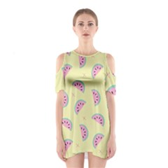 Watermelon Wallpapers  Creative Illustration And Patterns Shoulder Cutout One Piece