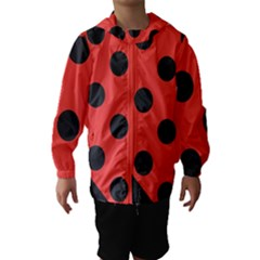 Abstract Bug Cubism Flat Insect Hooded Wind Breaker (kids)