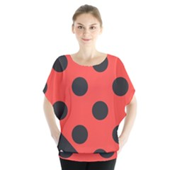 Abstract Bug Cubism Flat Insect Blouse