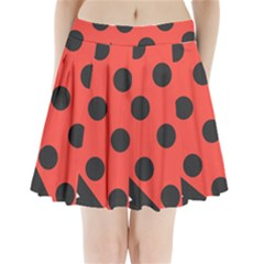 Abstract Bug Cubism Flat Insect Pleated Mini Skirt