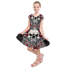 Acab Tribal Kids  Short Sleeve Dress