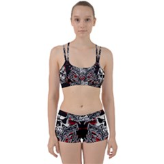 Skull Tribal Women s Sports Set