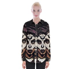 Voodoo  Witch  Womens Long Sleeve Shirt