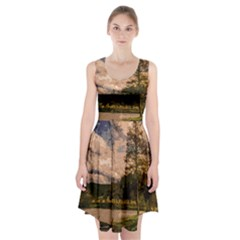 Landscape Racerback Midi Dress