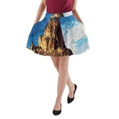 Landscape A Line Pocket Skirt