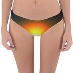 Landscape Reversible Hipster Bikini Bottoms