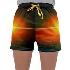 Landscape Sleepwear Shorts