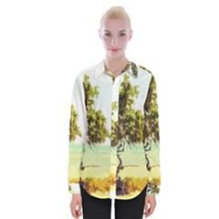 Landscape Womens Long Sleeve Shirt