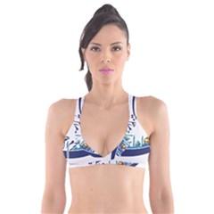 Seal Of Qom  Plunge Bikini Top