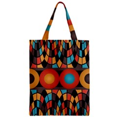 Colorful Geometric Composition Classic Tote Bag