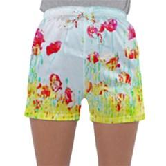 Poppy Field Sleepwear Shorts