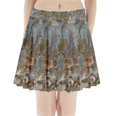 Underwater Pleated Mini Skirt