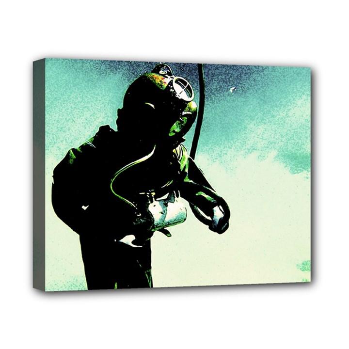 Underwater Canvas 10  x 8