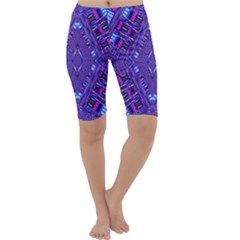 Race Time Queen Cropped Leggings