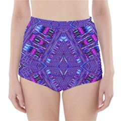 Race Time Queen High Waisted Bikini Bottoms