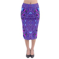 Race Time Queen Midi Pencil Skirt